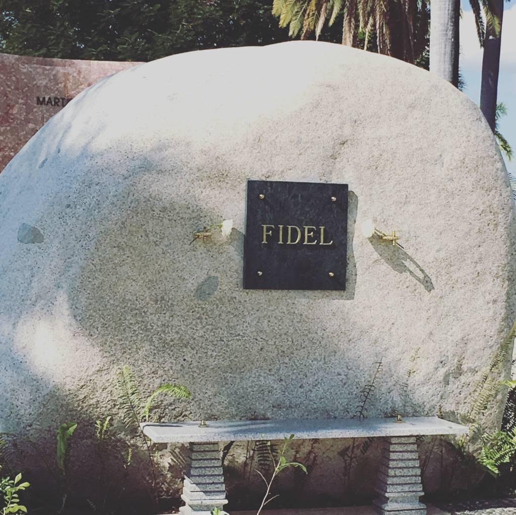 Fidel Castro, Cimitero di Santa Ifigenia