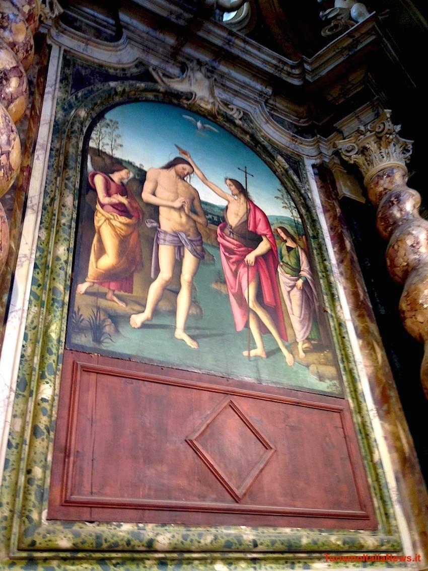 Battesimo di Cristo a Città della Pieve