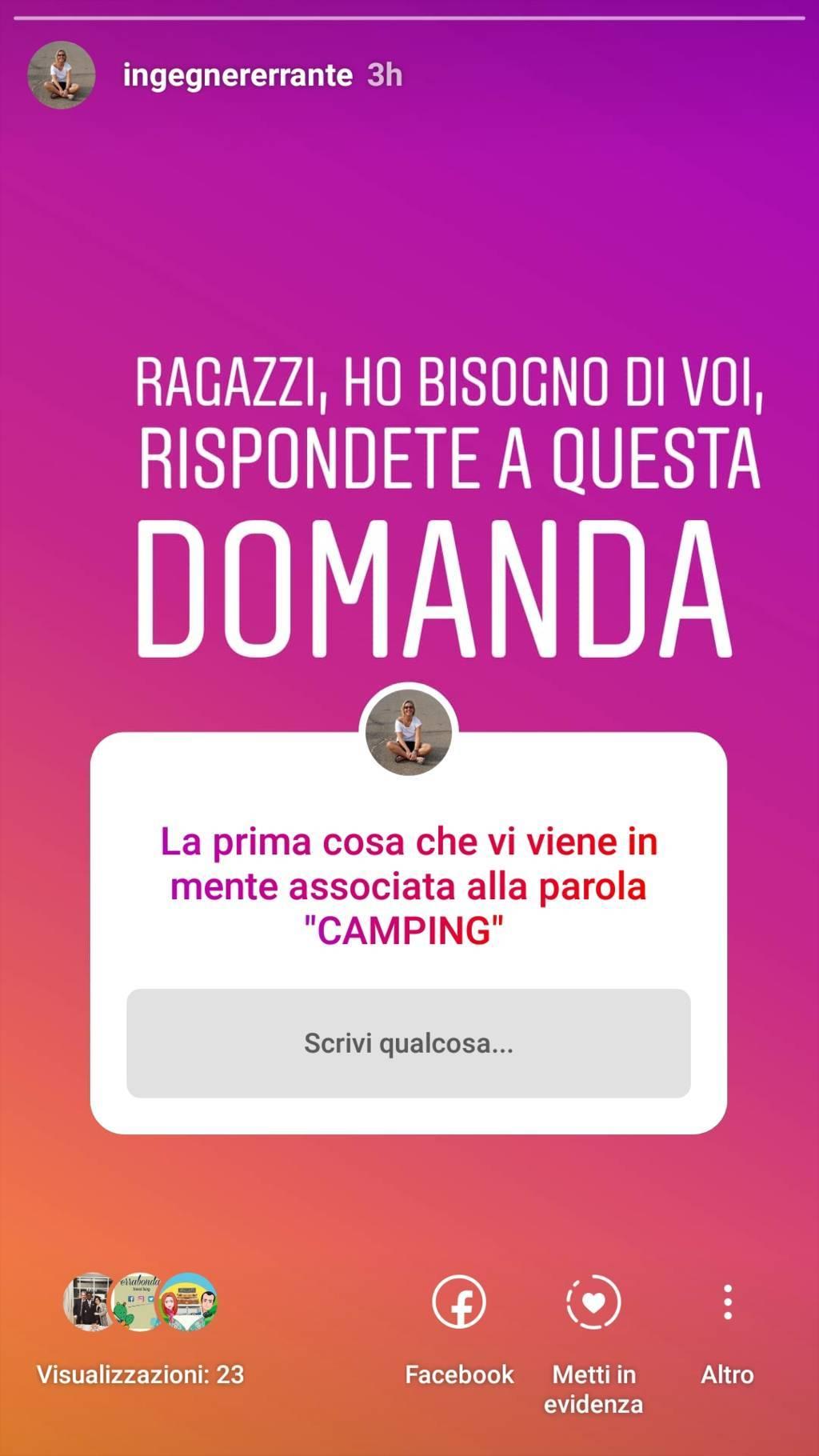 doomanda cos'è il camping