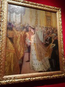 matrimonio zar Nicola II con la Principessa Alix d'Assia