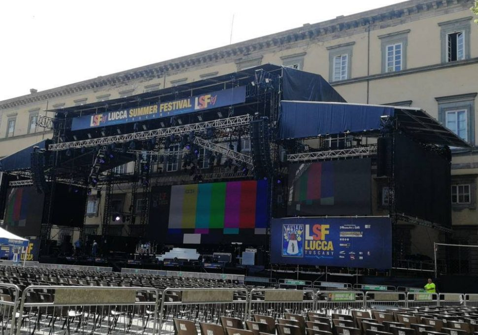 palco LuccaSummer Festival