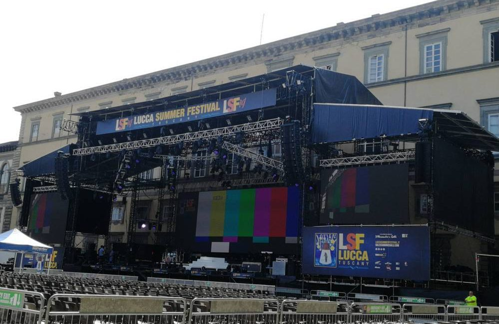 Palco Lucca Summer Festival