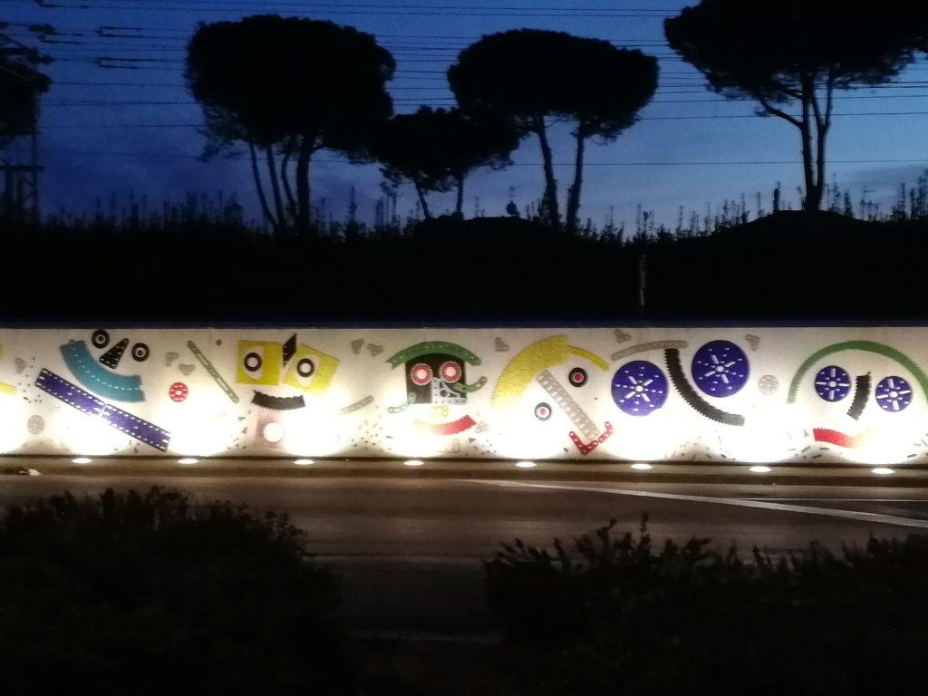 Muro di Pontedera, Valdera