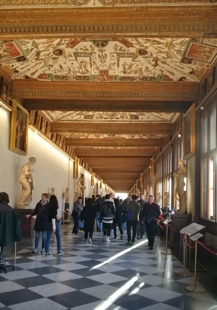 Galleria Uffizi con Musement