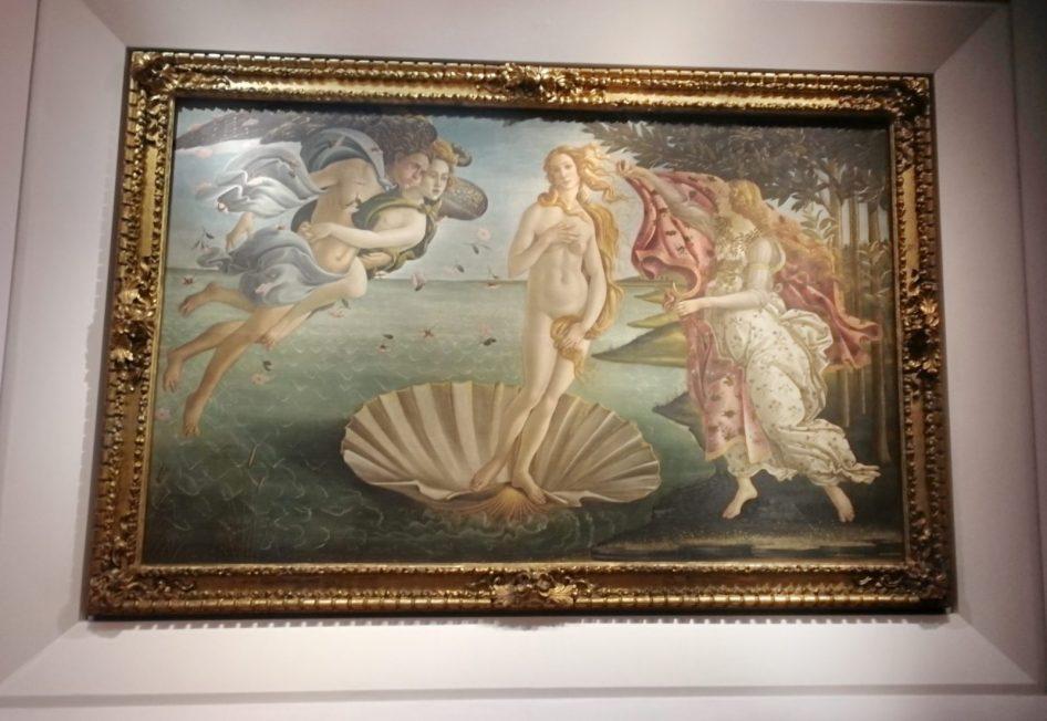 Venere di Botticegli agli Uffizi con Musement